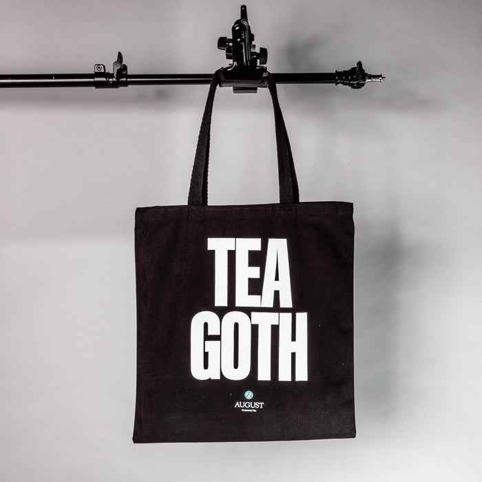 Tea Goth Canvas Tote