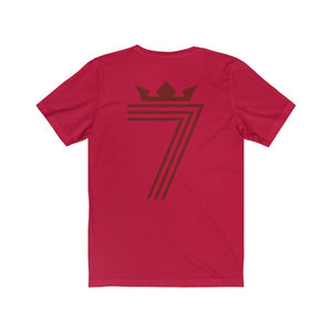 DOUBLE 7 RETRO RED T-Shirt (4 Different Colours of T-Shirt)