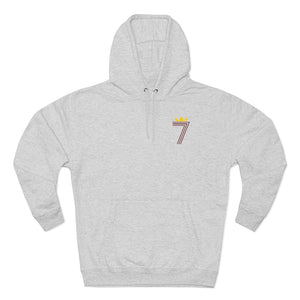 DOUBLE #7 HOODIE Red & Gold Logo (3 Different Colours of Hoodie)