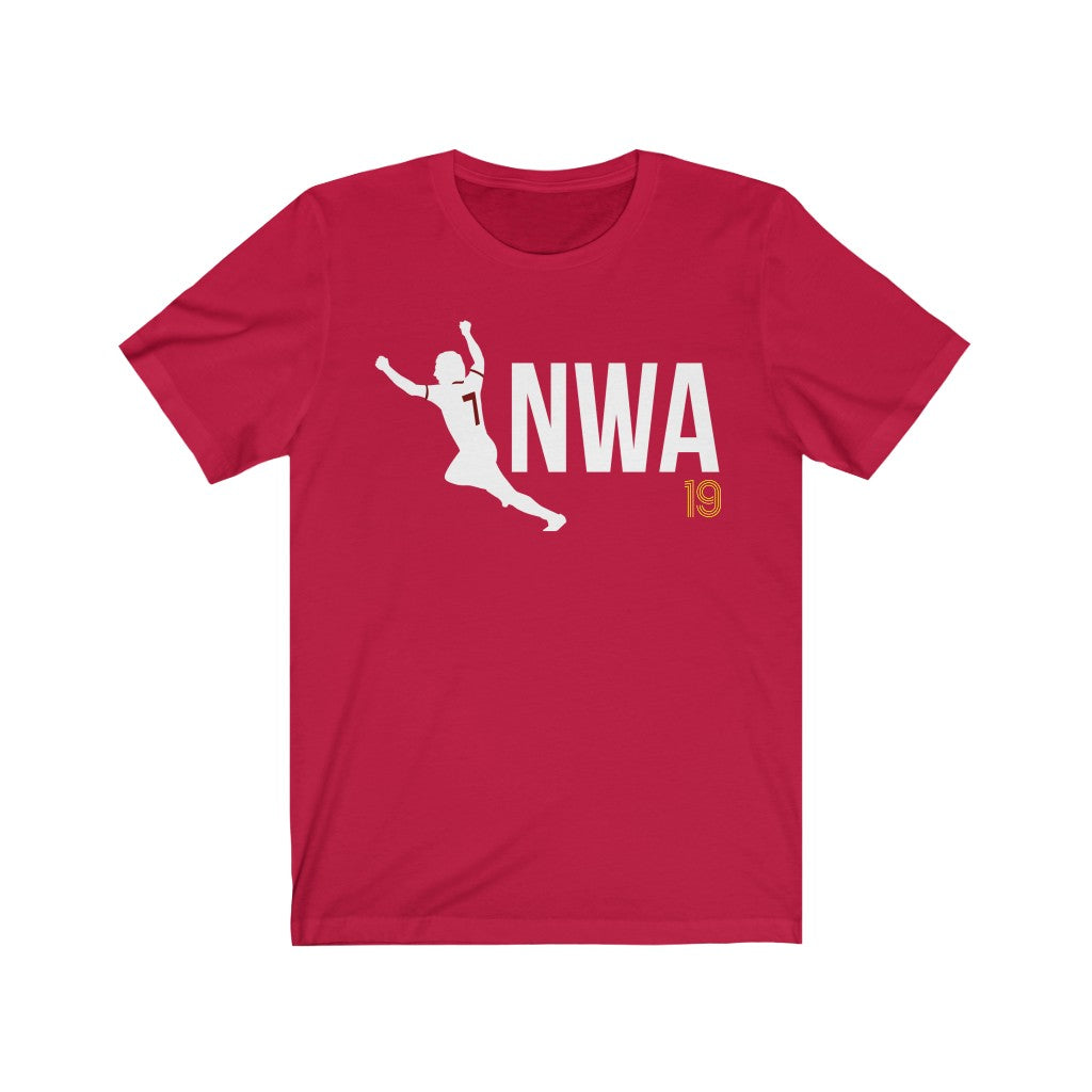 7NWA 1978 19 Titles (5 Different Colours of T-Shirt)