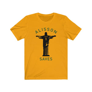 Alisson Saves Short Sleeve Tee (6 Different Colours of T-Shirt)