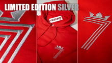 Load image into Gallery viewer, LIMITED EDITION 70th BIRTHDAY DOUBLE #7 HOODIE Silver (3 Different Colours of Hoodie)