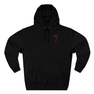 DOUBLE #7 HOODIE (3 Different Colours of Hoodie)