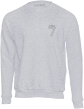 Load image into Gallery viewer, LIMITED EDITION 70th BIRTHDAY DOUBLE #7 Sweatshirt Silver (3 Different Colours of Sweatshirt)