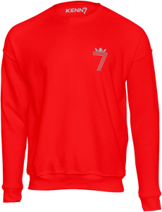 LIMITED EDITION 70th BIRTHDAY DOUBLE #7 Sweatshirt Silver (3 Different Colours of Sweatshirt)