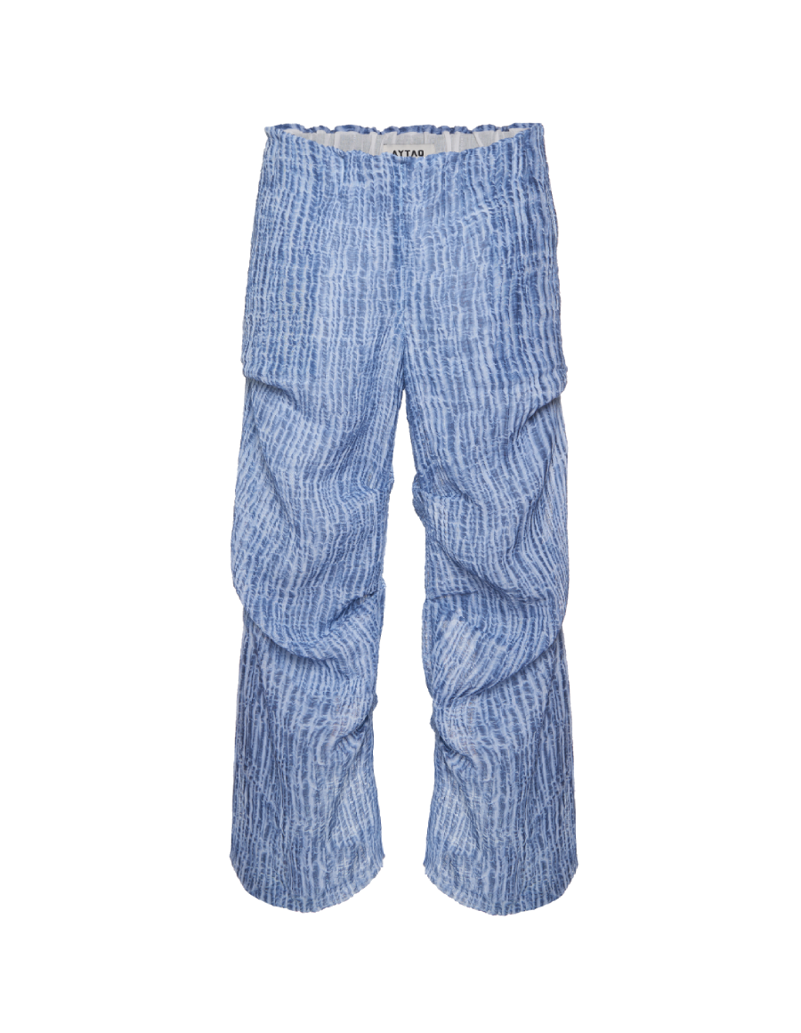 Blue Waves Pants