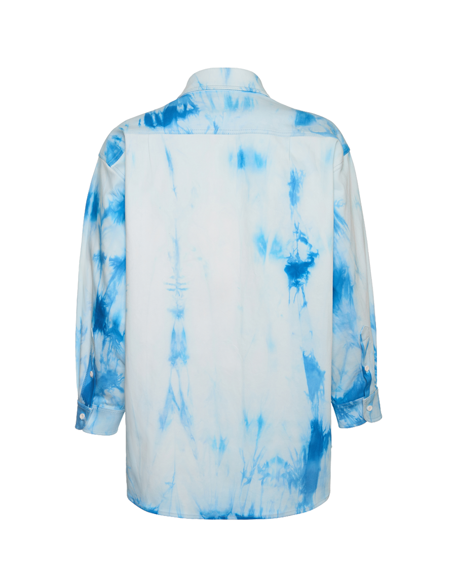 Printed oversized shirt