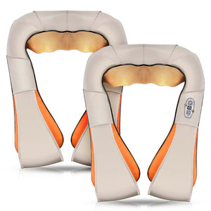 2X Electric Kneading Neck Shoulder Arm Body Massager With Heat Health Care