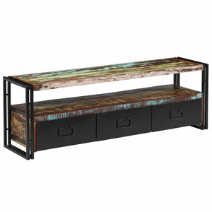 TV Cabinet Solid Reclaimed Wood 120x30x40 cm sku-244844