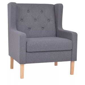 Armchair Grey Fabric sku-245452