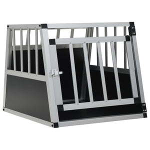 Dog Cage with Single Door 54x69x50 cm