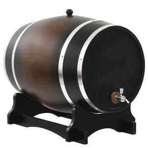 Wine Barrel with Tap Solid Pinewood 35 L sku 50685