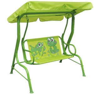 Kids Swing Seat Green