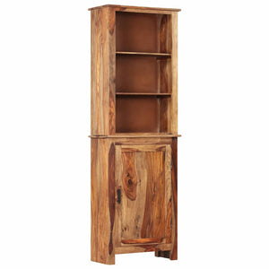 Highboard 60x30x180 cm Solid Sheesham Wood