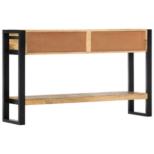 Console Table 130x30x76 cm Solid Mango Wood