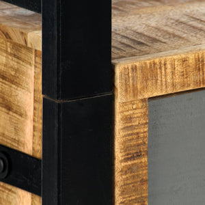Bookshelf 50x30x170 cm Solid Mango Wood