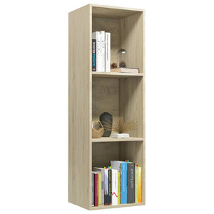 Book Cabinet/TV Cabinet Sonoma Oak 36x30x114 cm Chipboard sku 802069