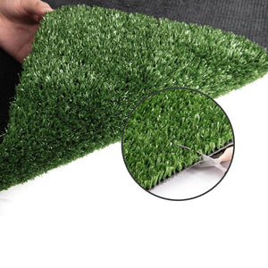 Primeturf Artificial Synthetic Grass 1 x 10m 15mm - Olive Green