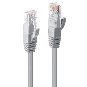 Lindy .5m CAT6 UTP Cable Grey
