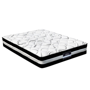 Giselle Bedding King Size Euro Spring Foam Mattress