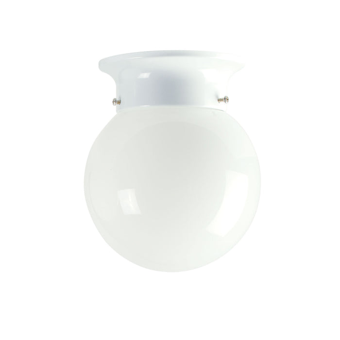JETBALL 15 White - DIY Glass Ceiling Light with opal Glass