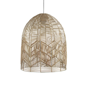 TANAH PENDANT SHADE - Natural Rattan Cane Shade Only