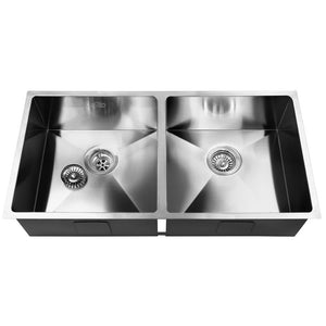 Cefito 865 x 440mm Stainless Steel Sink