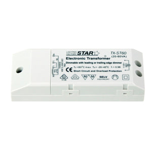 TX-STAR-60VA - Electronic Transformer 240-12V 60w