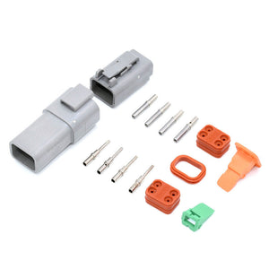 Deutsch DT 4-Way 4 Pin Electrical Connector Plug Kit #DT4 Trailer Waterproof AU