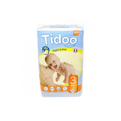 Couches 4-9Kg Tidoo