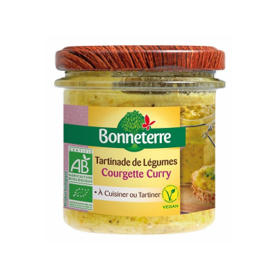 Tartinade Curry Courgette Bonneterre