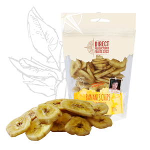 Bananes chips (125g) | Direct Producteurs Fruits Secs