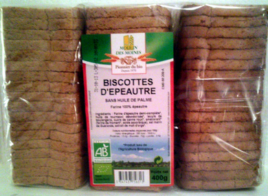 Biscottes Epeautre Completes