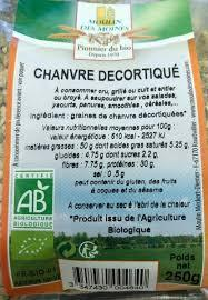 Graine Chanvre Decortiquee Mm