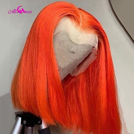 150% Density Colored Lace Human Hair Wig- Pre-Plucked Virgin Expressions
