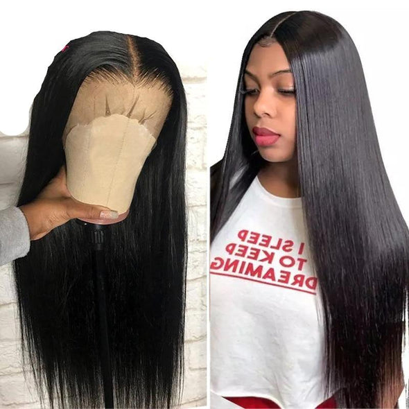 "28-30"" Glueless Straight Hair Wig Virgin Expressions"