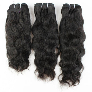 "3 Piece Lot 8-30"" Natural Wave Hair Bundles Extensions Virgin Expressions"