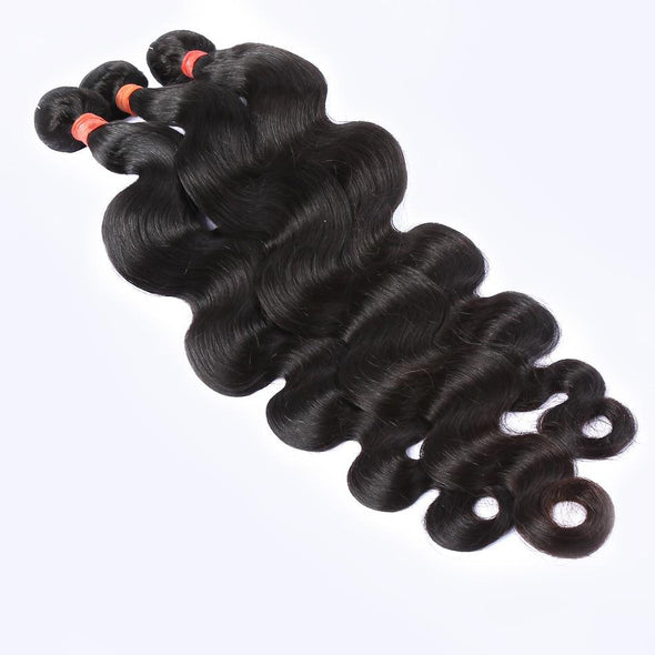 Body Wave Hair Bundle Extensions Virgin Expressions