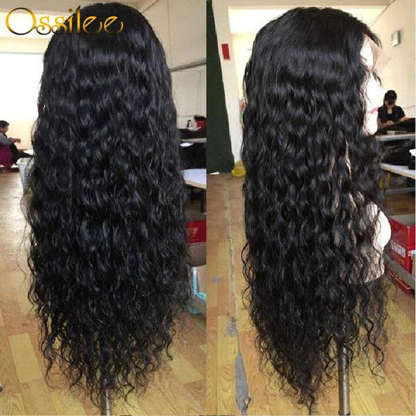 Brazilian Curly Human Hair Wig Virgin Expressions