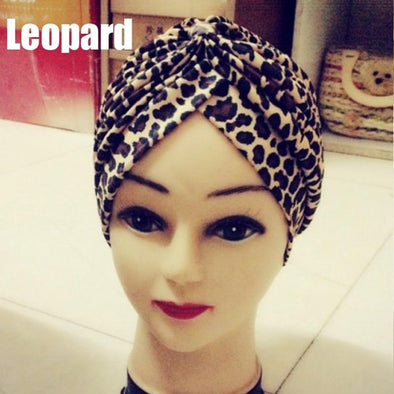 Fashion Leopard Turban Head Wrap Y Virgin Expressions