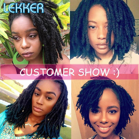 Human Hair Braids 100% Hand Made Virgin Expressions