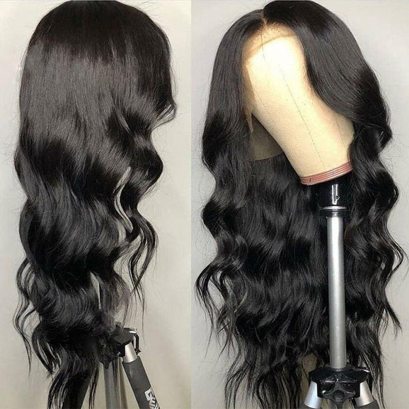 Pre Plucked With Baby Hair Body Wave Wig Virgin Expressions