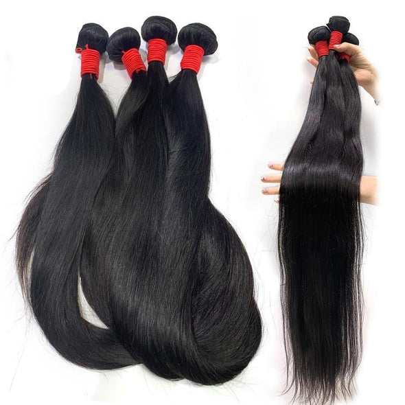 Silky Straight Peruvian Hair Bundles Virgin Expressions