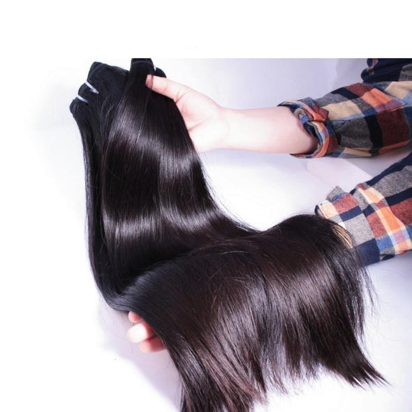 Straight Unprocessed Virgin Hair Bundle Virgin Expressions