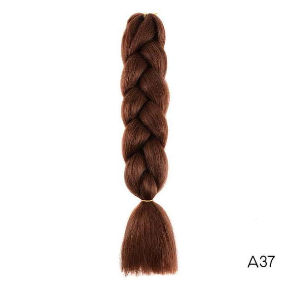 Synthetic Braiding Hair Extension Box Virgin Expressions