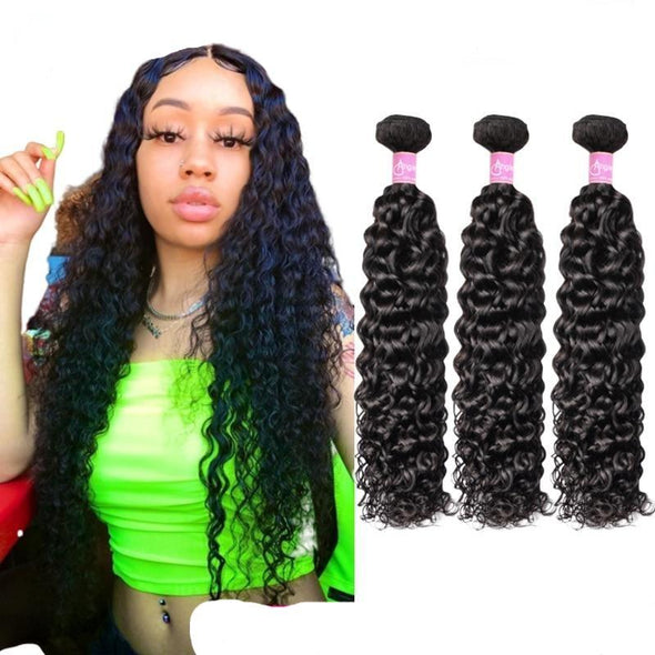 Water Wave Hair Bundles Remy Hair Virgin Expressions