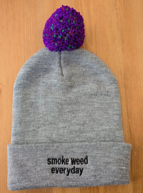 "Ricky Williams x Black Nug Collaboration ""Nug"" Beanie"