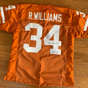Personalized University of Texas Jersey - XL