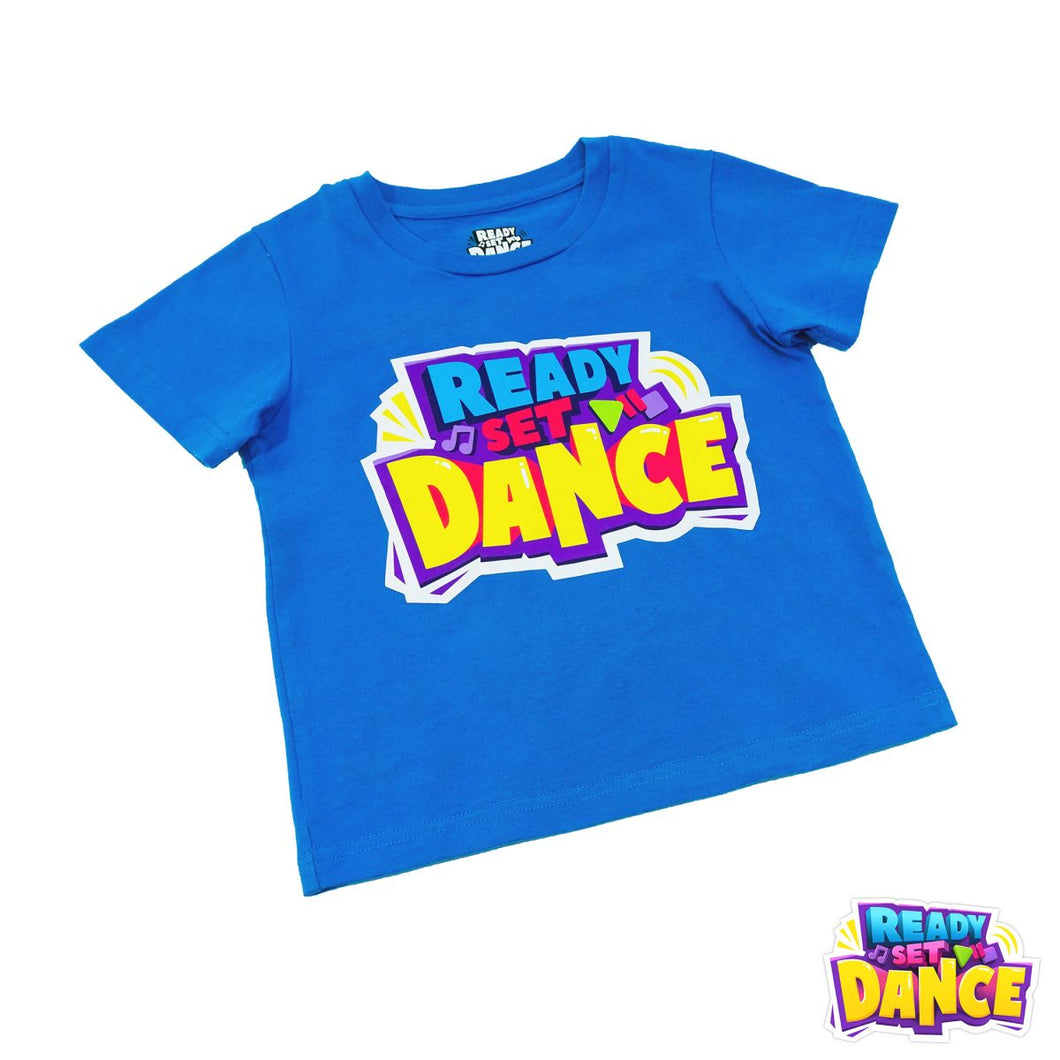 READY SET DANCE Kids T-Shirt
