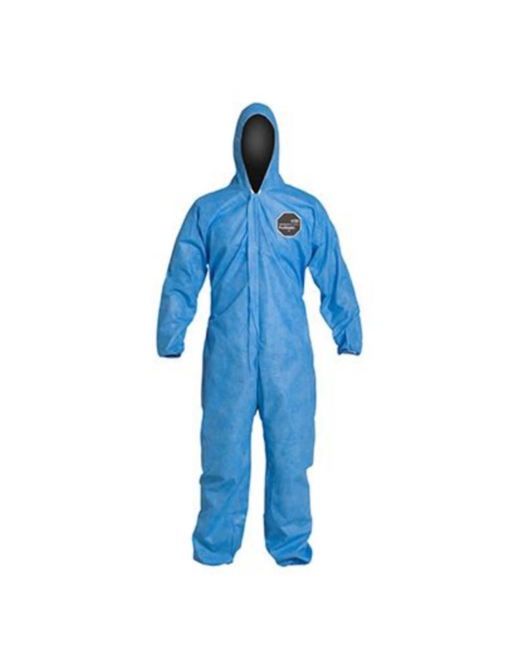 Dupont Film Laminate General Purpose Coveralls, Size XL -  5-Pack (30% OFF)
